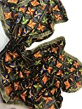 IBC Punjabi Dupatta Phulkari Work Women Scarf Perfect Match for any Dress (Black with Bunch of colors)