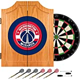 NBA Washington Wizards Wood Dart Cabinet Set
