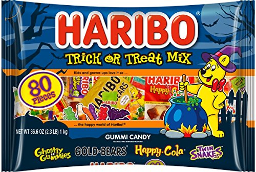 Haribo Trick or Treat Mix, 36.6 Ounce (Pack of 6)