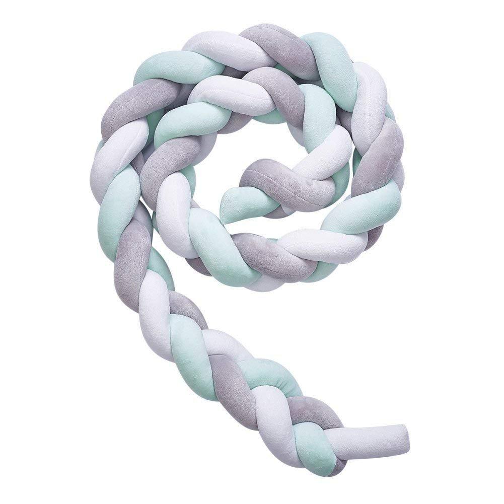 en varios colores Bianco Babysanity/-/Reductor antigolpes de cuna en forma cil/índrica