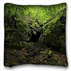 Custom Nature Custom Zippered Pillow Case 16x16 inches(one sides) from Surprise you suitable for X-Long Twin-bed
