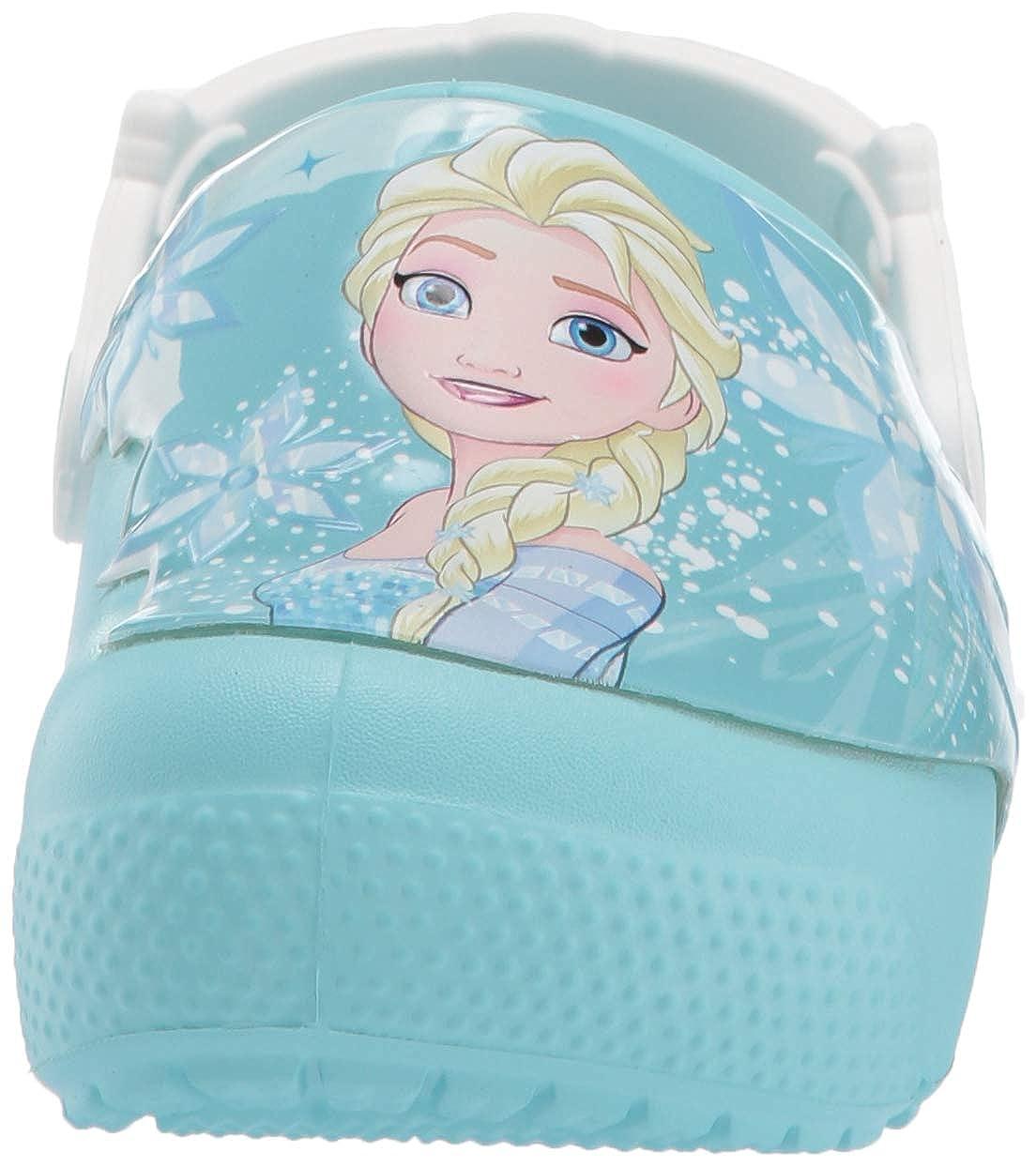 Crocs Fun Lab Frozen Elsa Light Clog Kids Sabots Fille