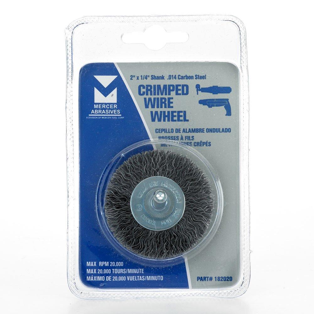 Amazon.com: Mercer Industries 182020 Crimped Wire Wheel, 2\