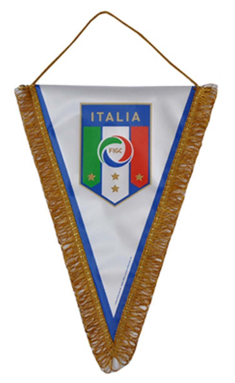 FIGC Italia Gagliardetto Triangolare Nazionale Italiana