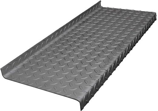 Peldaño escalon de hierro para escalera metalica. (100cm): Amazon.es: Bricolaje y herramientas