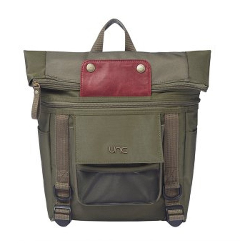 [UNCスキャンプ] UNC Scamp 遠足かばん 海外直送品 (UNC Scamp Kids Backpack for Camping Picnic Traveling School) [並行輸入品] B074XFS7ZG  カーキ