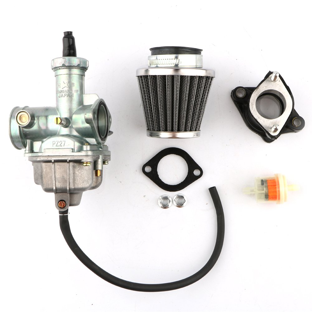 Cg Fuel Filter Wiring Library 1997 Harley Davidson Dyna Wide Glide Diagram Amazoncom Pasen Povor Pz27 Carburetor Cable Choke 38mm Air 27mm Intake Manifold