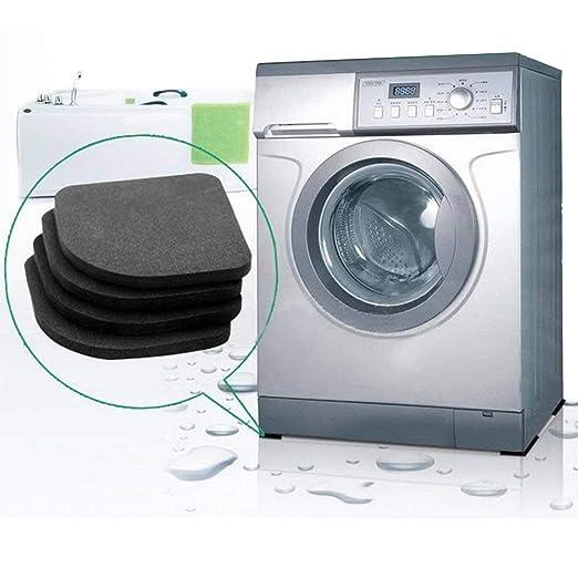 INTVN Almohadillas Antivibraciones Colchonetas Antideslizantes Silencioso pies almohadillas de goma universal para lavadora nevera Home Appliance, 16 ...