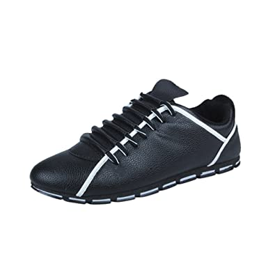 fc03c4cfa3 Mens Mesh Running Trainers Athletic Walking Gym Shoes Sport Run, Fashion Men  Casual Leather Comfortable