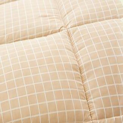 59x79inch YU&AN Betten Einfache Gewaschener Baumwolle,Verdickung Warme Klimaanlage Student Frühling Und Herbst Quilt Für Schlafzimmer Schlafsäle-S 150x200cm Heimtextilien, Bad- & Bettwaren Bettdecken
