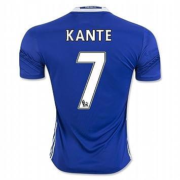 Camiseta de fútbol del Chelsea FC, de Kanté, con número 7. , hombre, azul, extra-large: Amazon.es: Deportes y aire libre