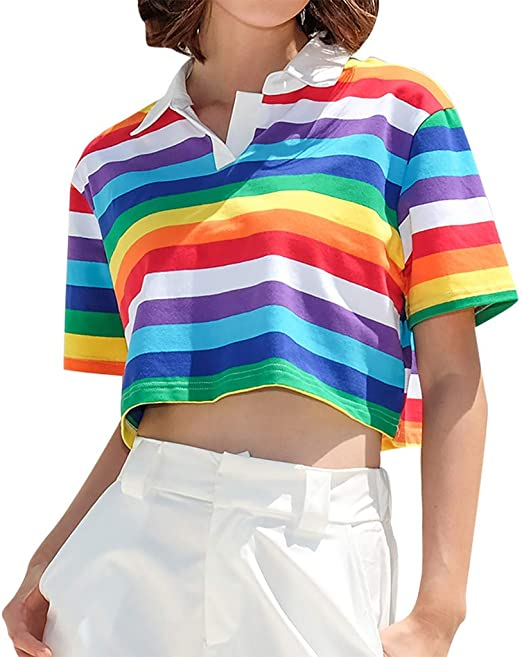 Costura Color de ContrasteTops Ronamick Verano Camisetas ...