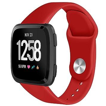 Amazon.com : Leless Lightweight For Fitbit Versa Smartwatch ...