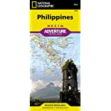 National Geographic Adventure Travel Map Philippines, Asia (National Geographic Adventure Map)
