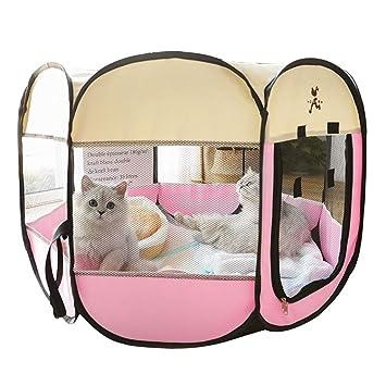 Casetas para perros Cerca De La Sala De Reparto De Mascotas Tienda De Mascotas Cerrada Sala De Reparto De Gatos Cerca De Juego Multifuncional para Mascotas ...