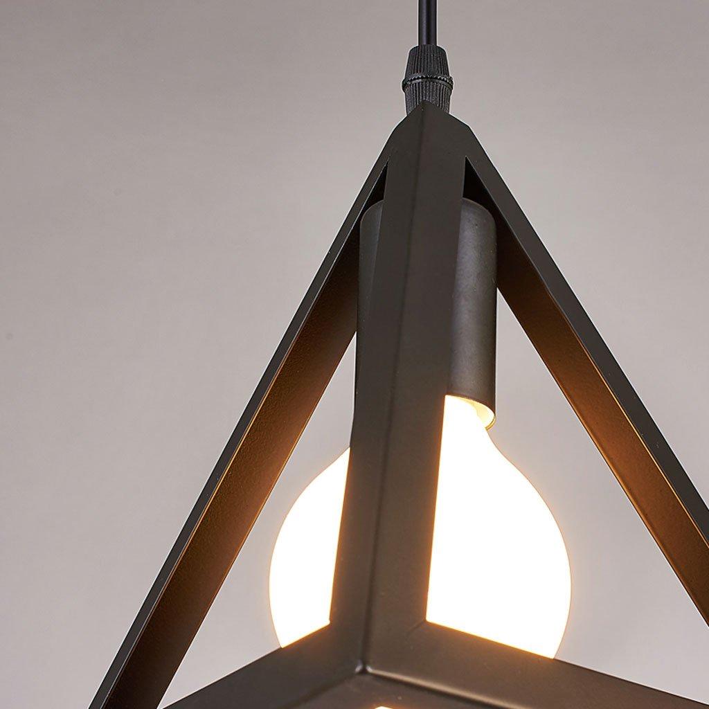 Industriellen stil eisen kronleuchter wohnzimmer schlafzimmer bar esszimmer restaurant lichter kronleuchter (Größe   Triangle)