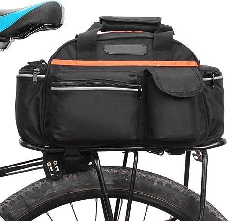 15L Cycling Bicycle Bike Rear Seat Rack Storage Trunk Bag Handbag Pannier $S1