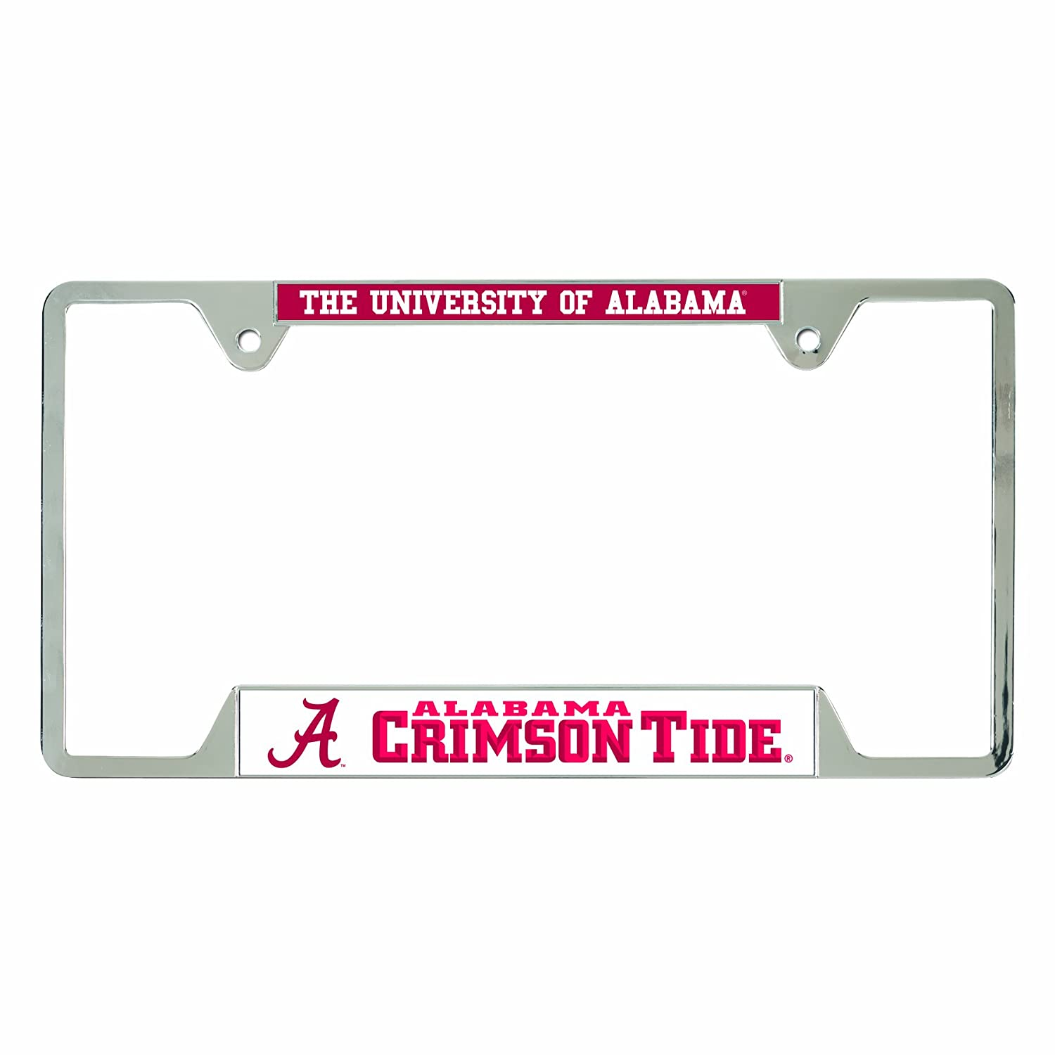 Amazon.com : WinCraft NCAA Alabama Crimson Tide License Plate Frames ...