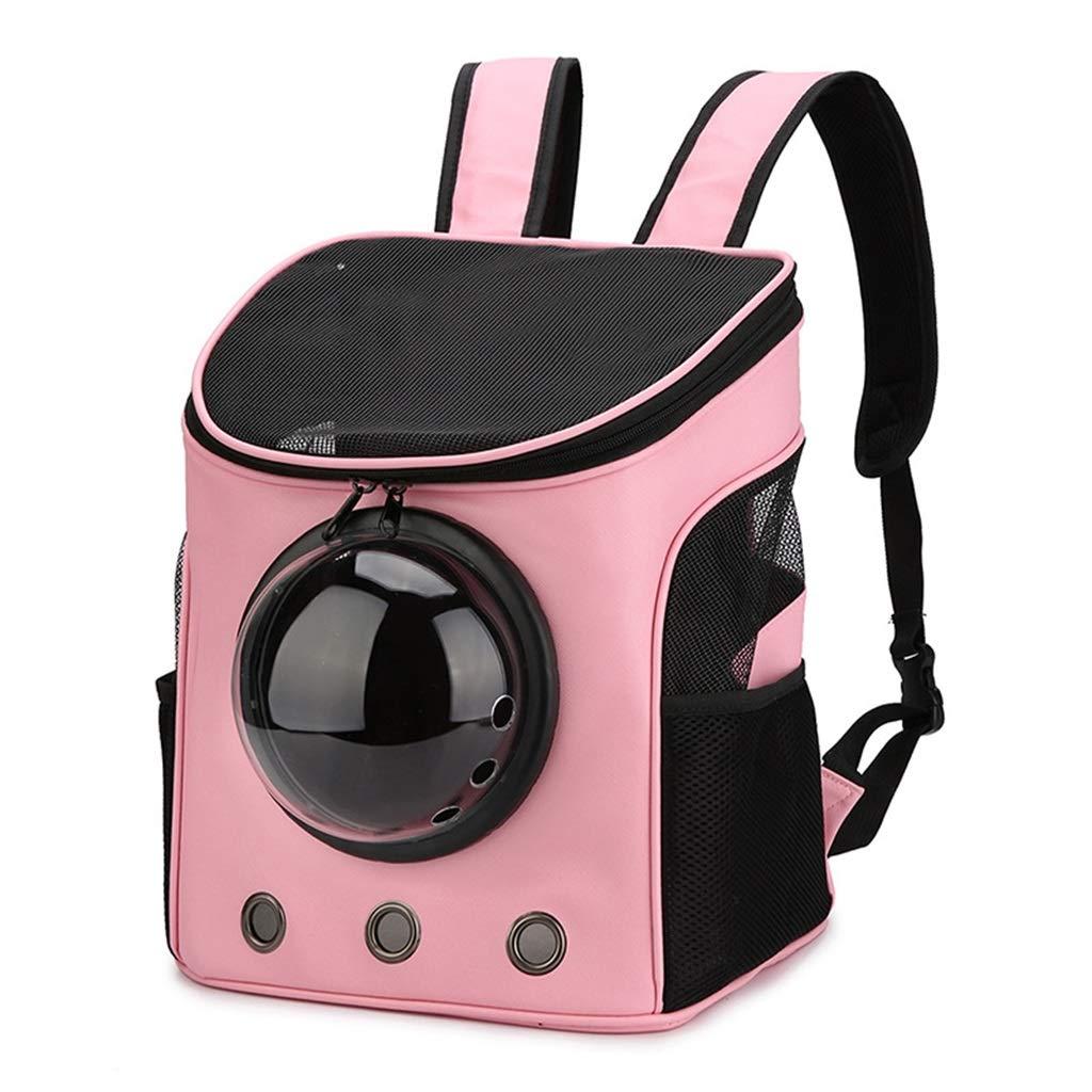 WWJHH-Pet bag Zaino Porta-Cane in Nylon per Animali Domestici in Tessuto Catarifrangente da Viaggio Portatile Traspirante per Animali da Compagnia 13.7x10.6x14.1 Pollici