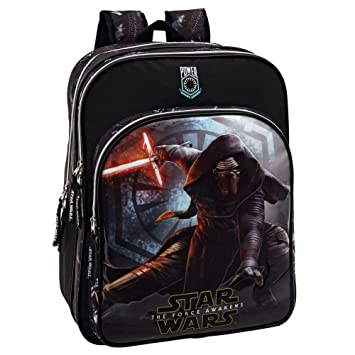 Star Wars 2352451 Mochila Escolar, Color Negro, 27.72 litros: Amazon.es: Equipaje