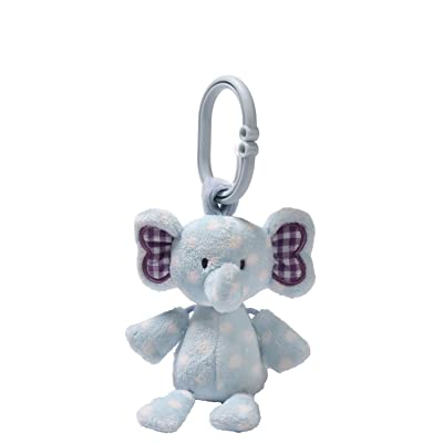 Gund Baby Rattle, Evert Elephant (Discontinued by Manufacturer): Toys & Games