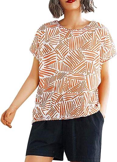 Berimaterry Camisetas Mujer Manga Corta Verano t Shirt Mujer ...