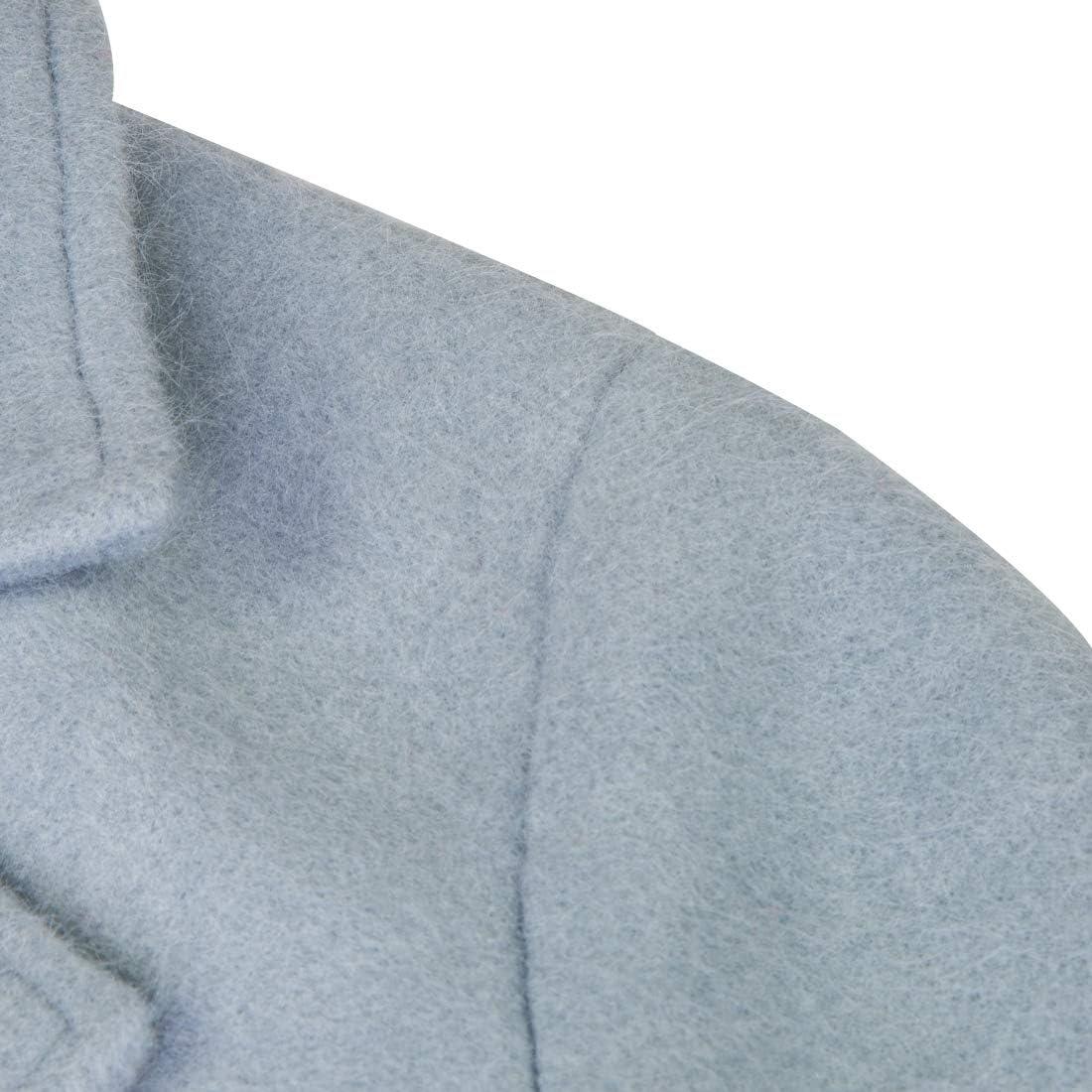 APTRO Damen M/äntel Lange Winter Wollmantel Trenchcoat /Übergangs Jacke WS01