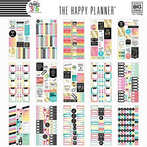 low-cost Bundle Create 365 The Happy Planner Fitness