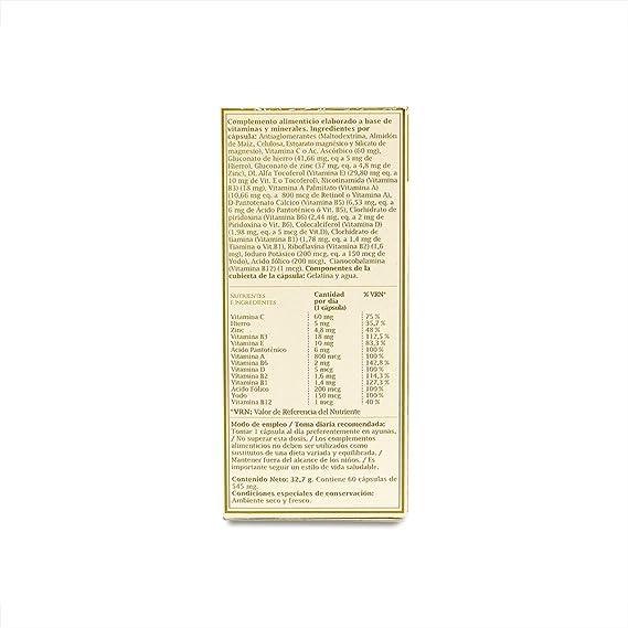 PRONUTRI - PRONUTRI Multivitamínico 60 cápsulas: Amazon.es: Salud y ...