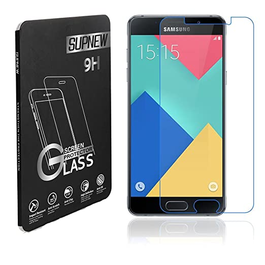 55 opinioni per [2-Pack] Samsung Galaxy A5 (2016) Pellicola Protettiva, Supnew Premium in Vetro
