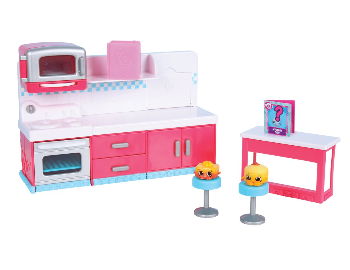 Amazon.com: Shopkins - Hot Spot Kitchen Playset: Toys & Games