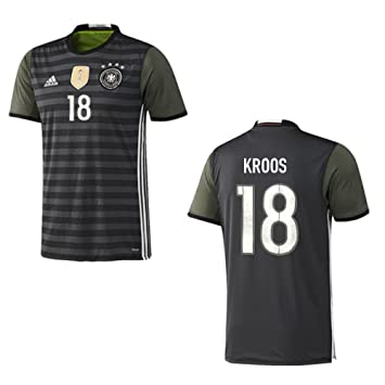 DFB Deutschland Kroos Flock für Adidas Away Trikot WM 2018