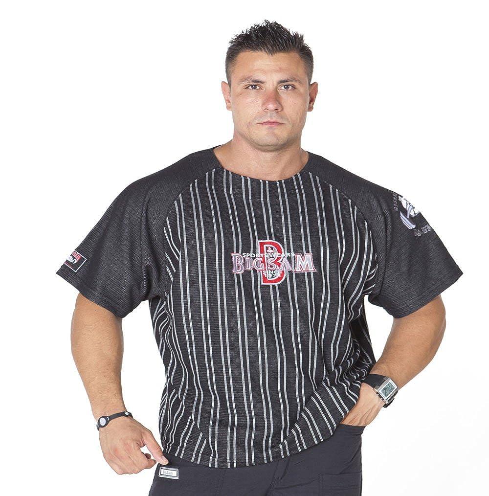 BIG SM EXTREME SPORTSWEAR Herren Ragtop Rag Top Sweater T-Shirt Bodybuilding 3043