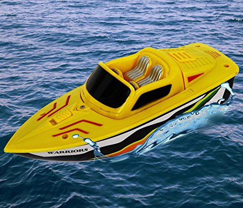 Electric Toy Boats (Dazzling Toys Battery Operated 10 Inch Water Boat Toy)