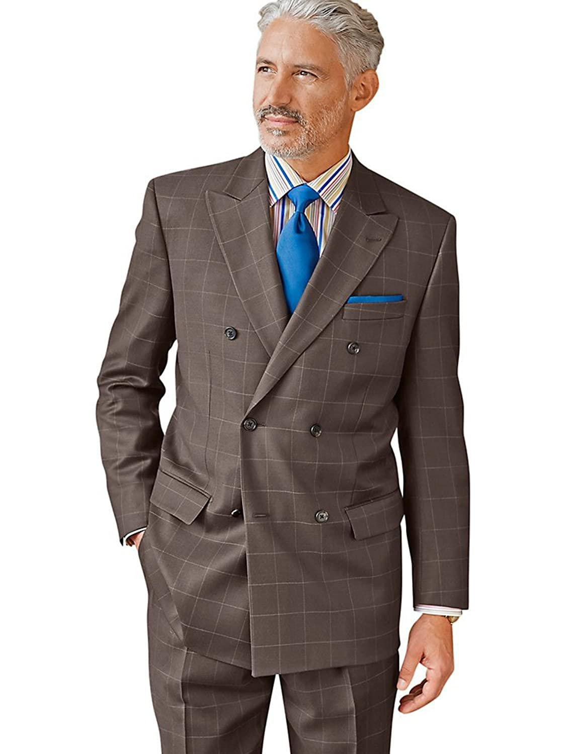 New 1940's Style Zoot Suits for Sale  Wool Double Breasted Peak Lapel Suit Separate Jacket $219.95 AT vintagedancer.com