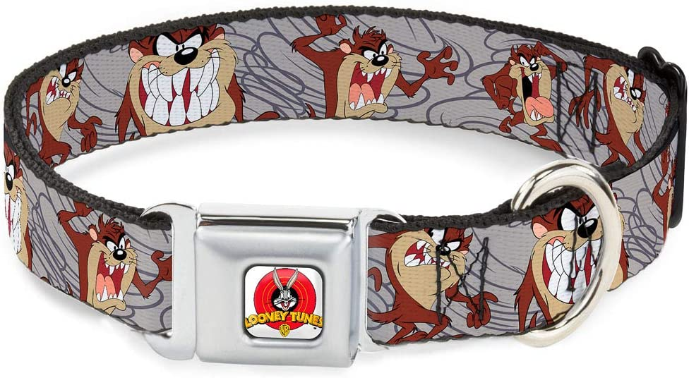 Buckle-Down Seatbelt Buckle Colorado Springs Mall Dog Popular overseas Collar Express Tasmanian Devil -