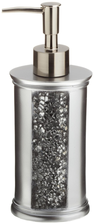 Sinatra silver shower curtain - Amazon Com Popular Bath Sinatra Silver 5 Pc Bath Accessory Set Home Kitchen