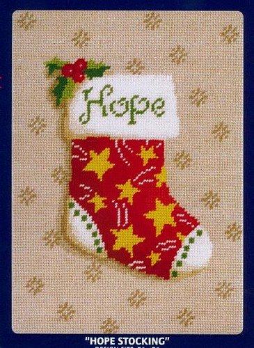 DMC Needlepoint Canvas Collection - Hope Stocking 5
