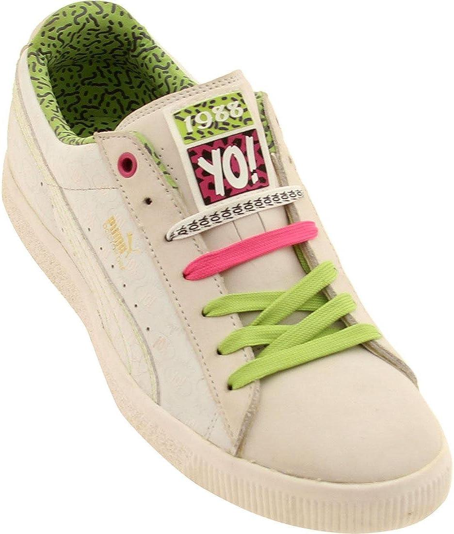 PUMA Ed \u0026 Dre Clyde (White/Lime Green
