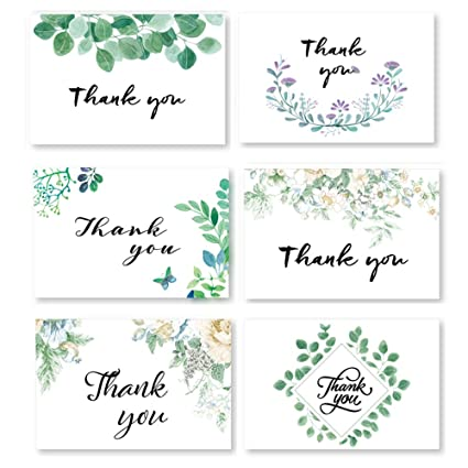 thank you cards all occasion handmade baby and bridal shower greeting card pack of 24