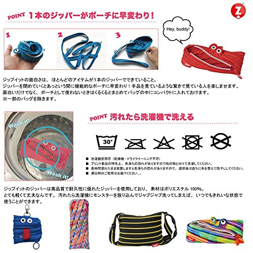 Geldbörse ZIPIT® Colorz mini pouch large bubbles Bok0Ziwvo6