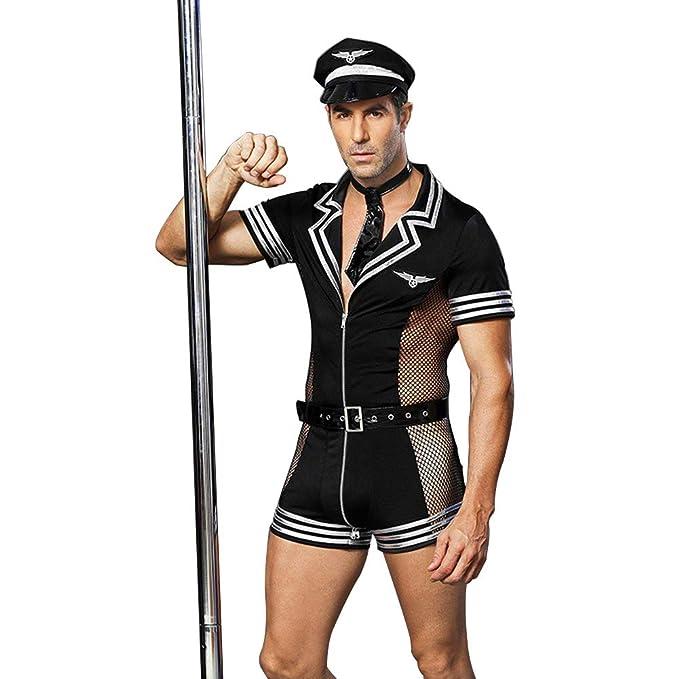 COSY-L Policía Masculino Erótico tentación Uniforme Sexy ...