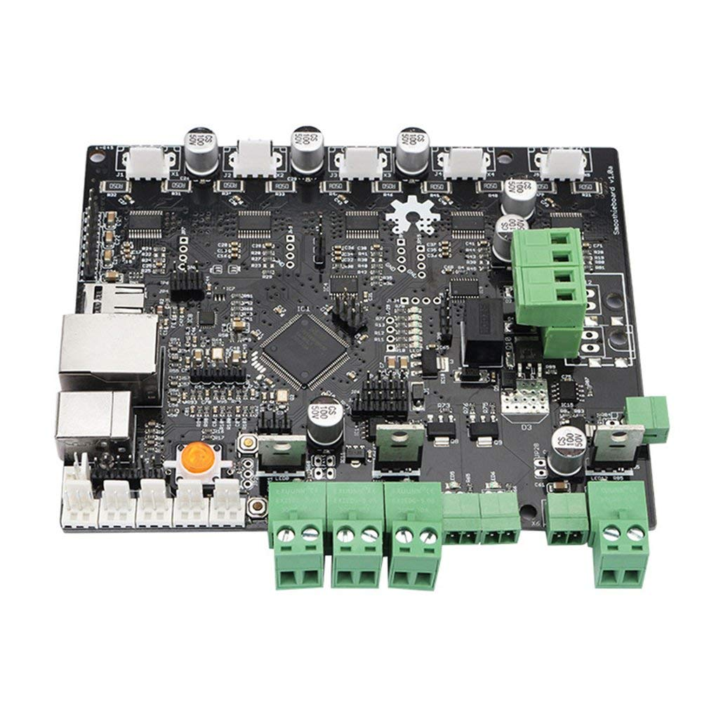 Zamtac 3D Printer Motherboard Engraving Machine Main Control Board Smoothieboard 5X V1.0 CNC Open Source firmware - (Color: Black) by GIMAX (Image #2)