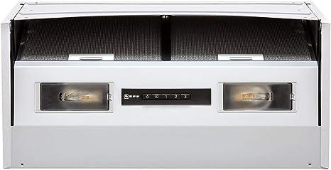 NEFF D61MAC1X0B - Campana extractora integrada en forma de D, color plateado: Amazon.es: Grandes electrodomésticos