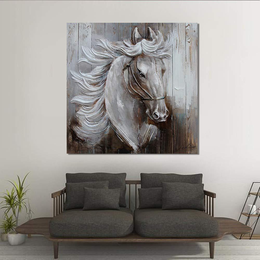 WHUI pintura al óleo Pintura al óleo pintura pintura óleo pintada a mano pintura al óleo gris lienzo arte de la pared obras de arte decoración para el hogar dormitorio sala de estar comedor c6184b