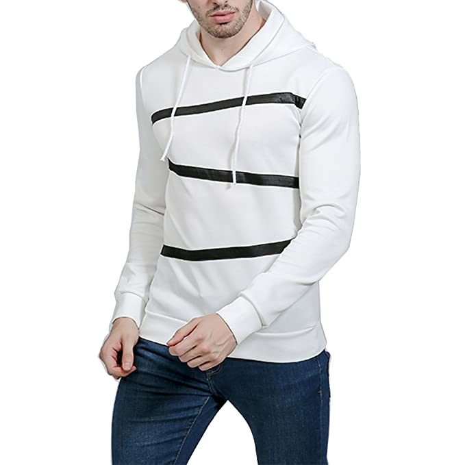 GUOCU Sudaderas Hombre Sudaderas con Capucha Moda Sports Tops Outwear Jacket: Amazon.es: Ropa y accesorios