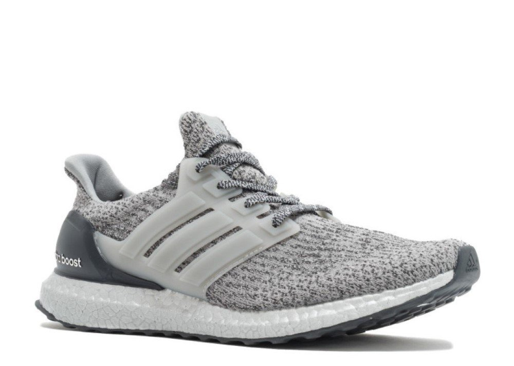 adidas Men's Ultraboost Running Shoe, Medium Dark Grey Heather, 4 M US by adidas (Image #1)