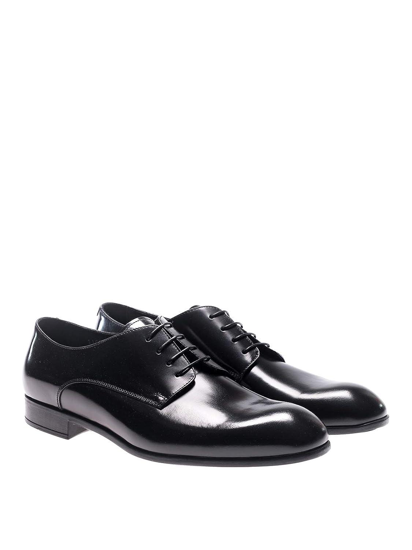 DOUCALS Men Zapatos ClÃsicos - Negro Classic Shoes: Amazon.es ...