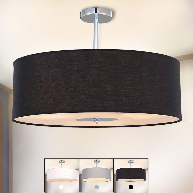 stoff deckenlampe simple sebatin aus stoff with stoff deckenlampe simple bklicht petrolgrau. Black Bedroom Furniture Sets. Home Design Ideas