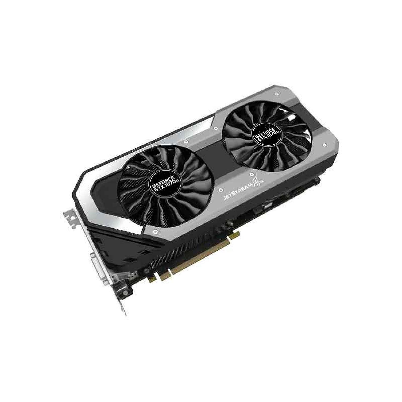 Palit NE5107TP15P2-1041J GeForce GTX 1070 Ti 8GB GDDR5 - Tarjeta gráfica (GeForce GTX 1070 Ti, 8 GB, GDDR5, 256 bit, 7680 x 4320 Pixeles, PCI Express ...